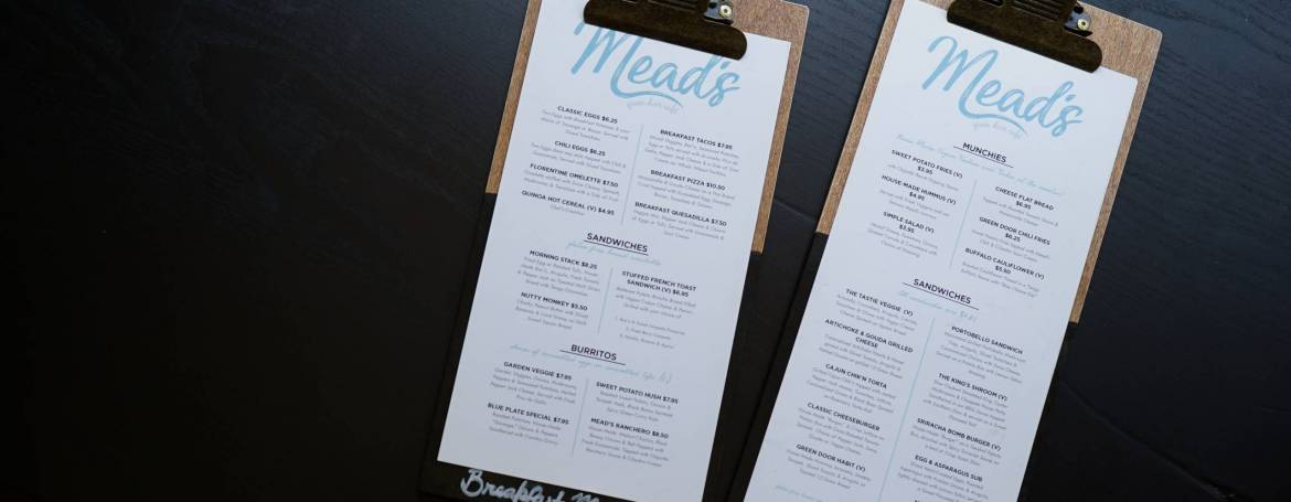Menu writing optimisation